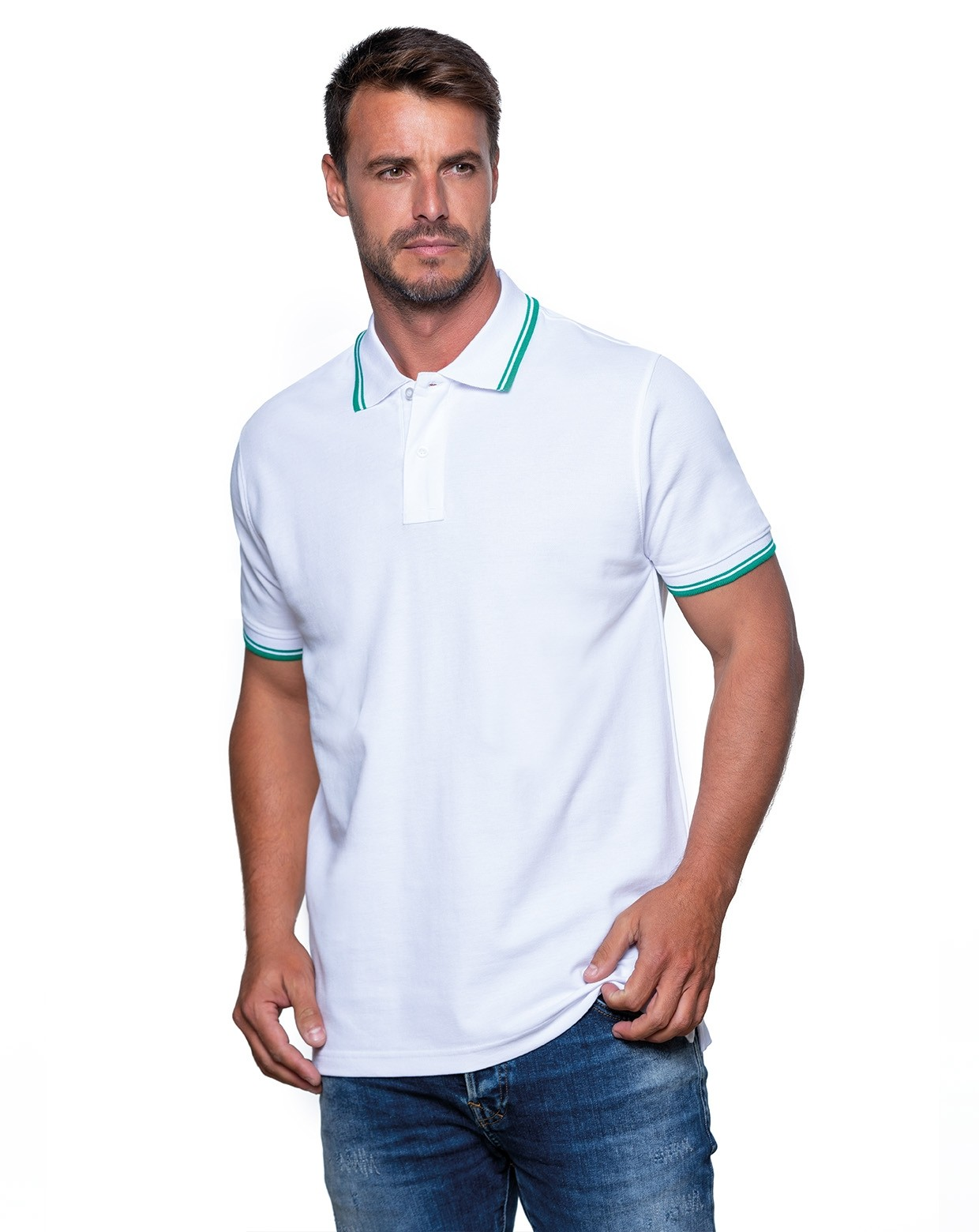 JHK POLO REGULAR MAN CONTRAST