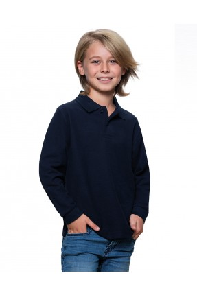 JHK KID POLO LS